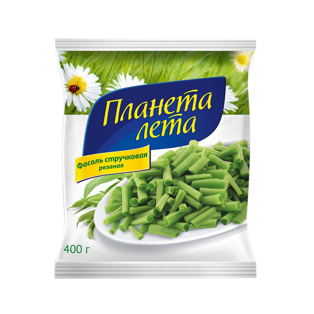 """Фасоль свежемороженная """"Планета Лета"""", 400 гр."""