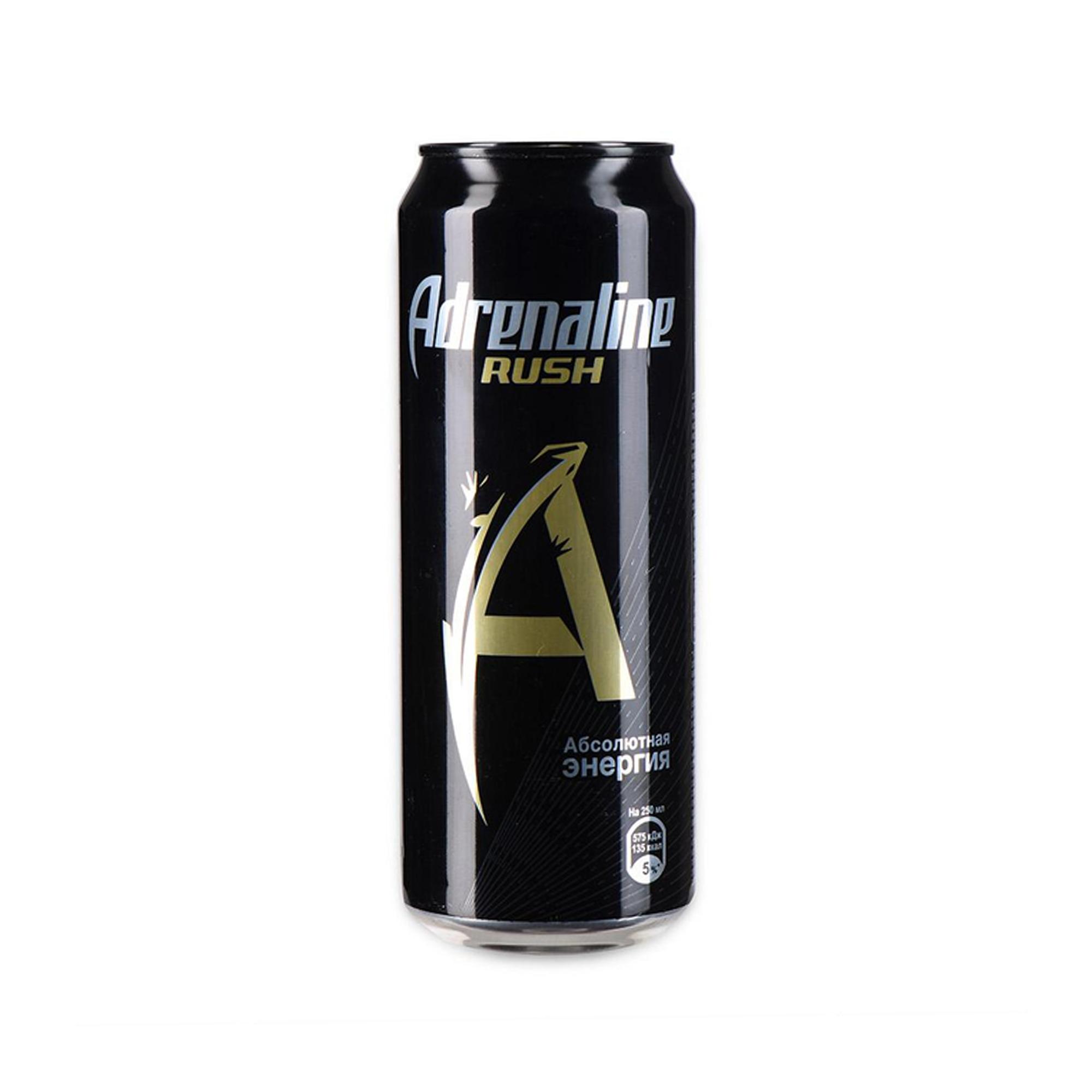 Напиток энергетический Адреналин Раш 0,450л