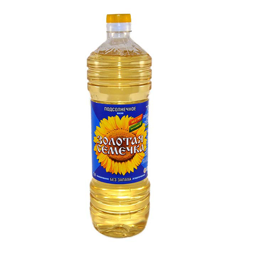 Масло Золотая Семечка подсолн.раф.дезор. в/с, 0,5л