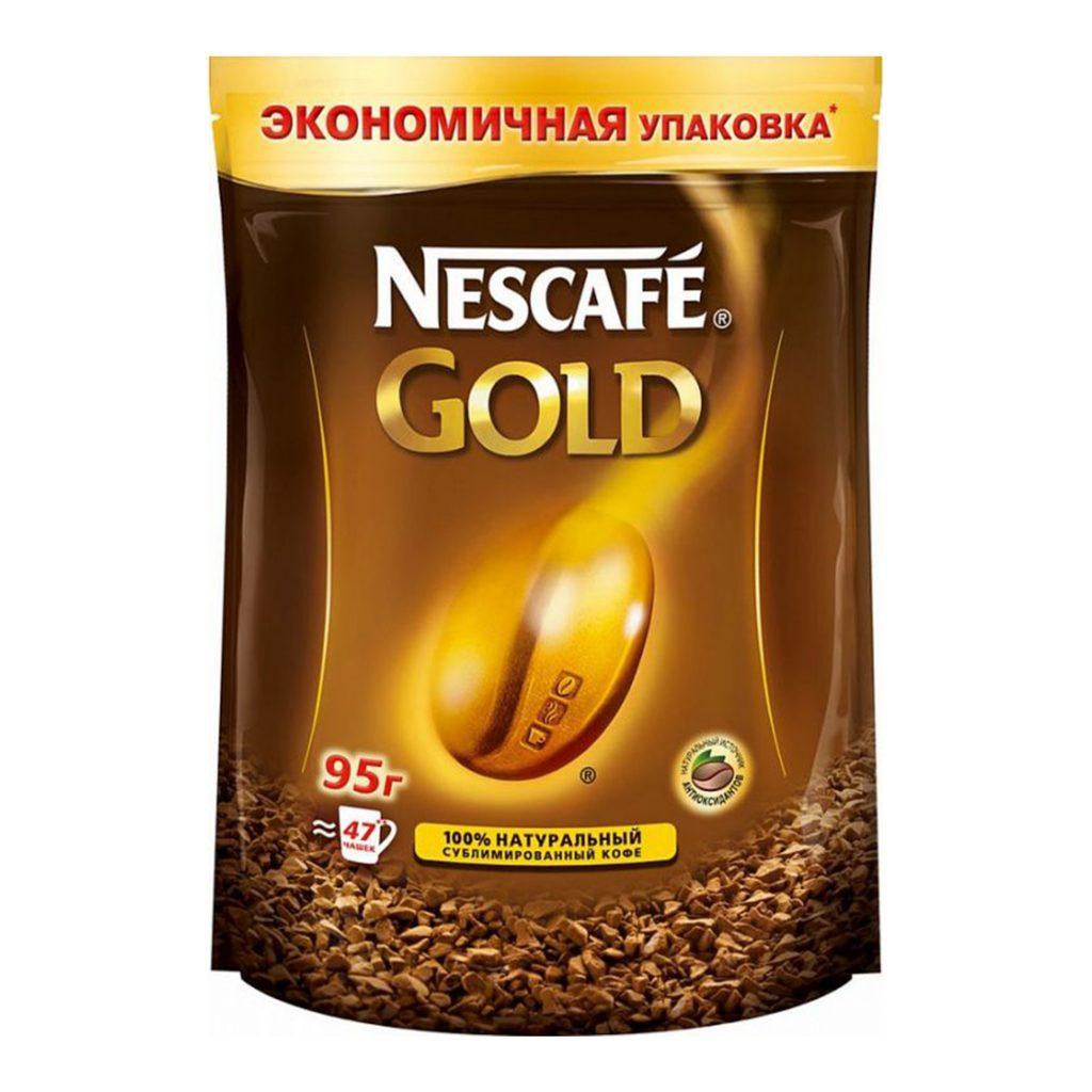 Нескафе Голд (пакет) 95г
