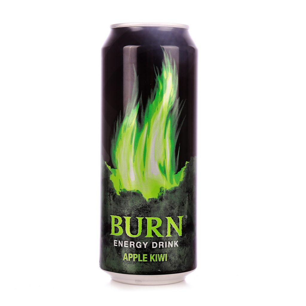 Напиток энергетический БЕРН ЯБЛОКО КИВИ 0,25ЛХ12 ЖБ