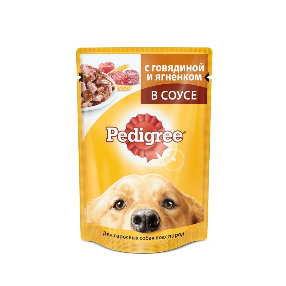 Корм Педигри д/собак Говядина/Ягненок 85г