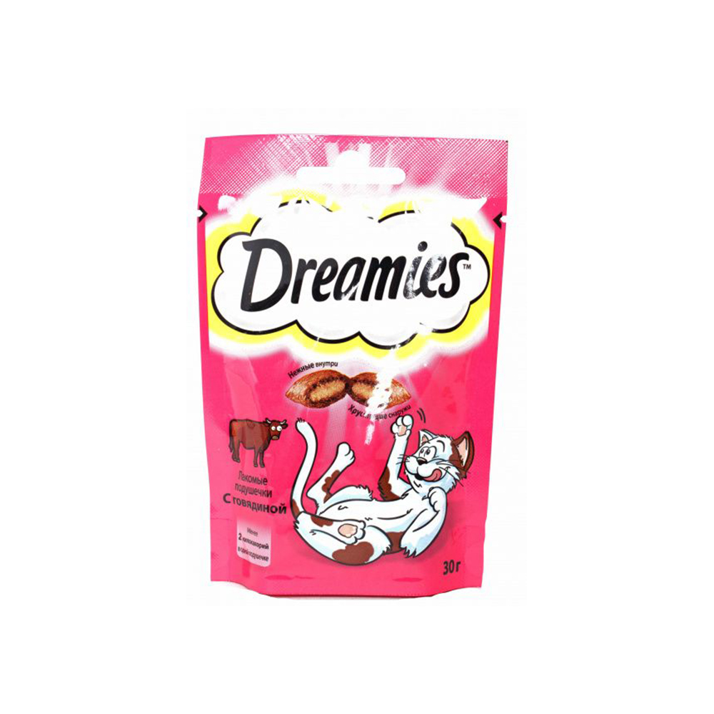 Корм Dreamies с говядиной 30г