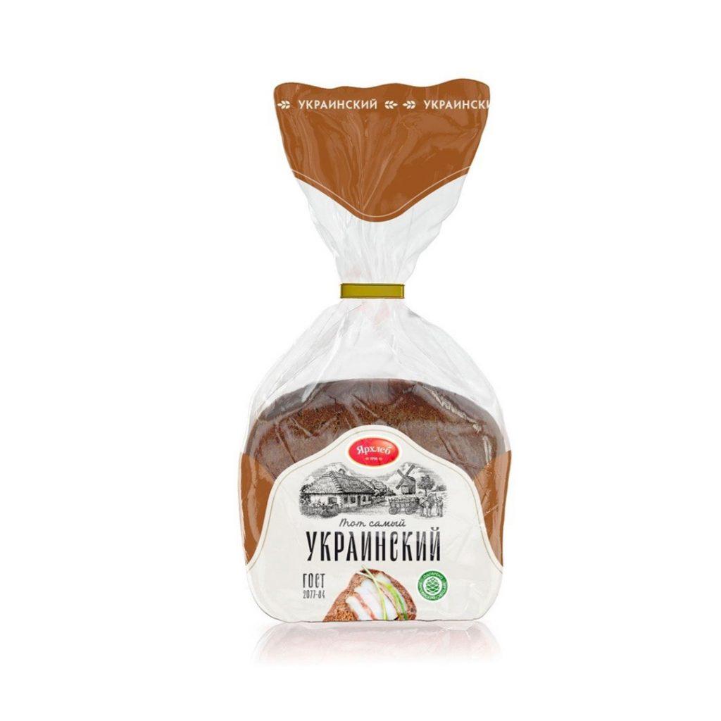Хлеб Украинский формовой ТОТ САМЫЙ 300гр ЯрХлеб,шт