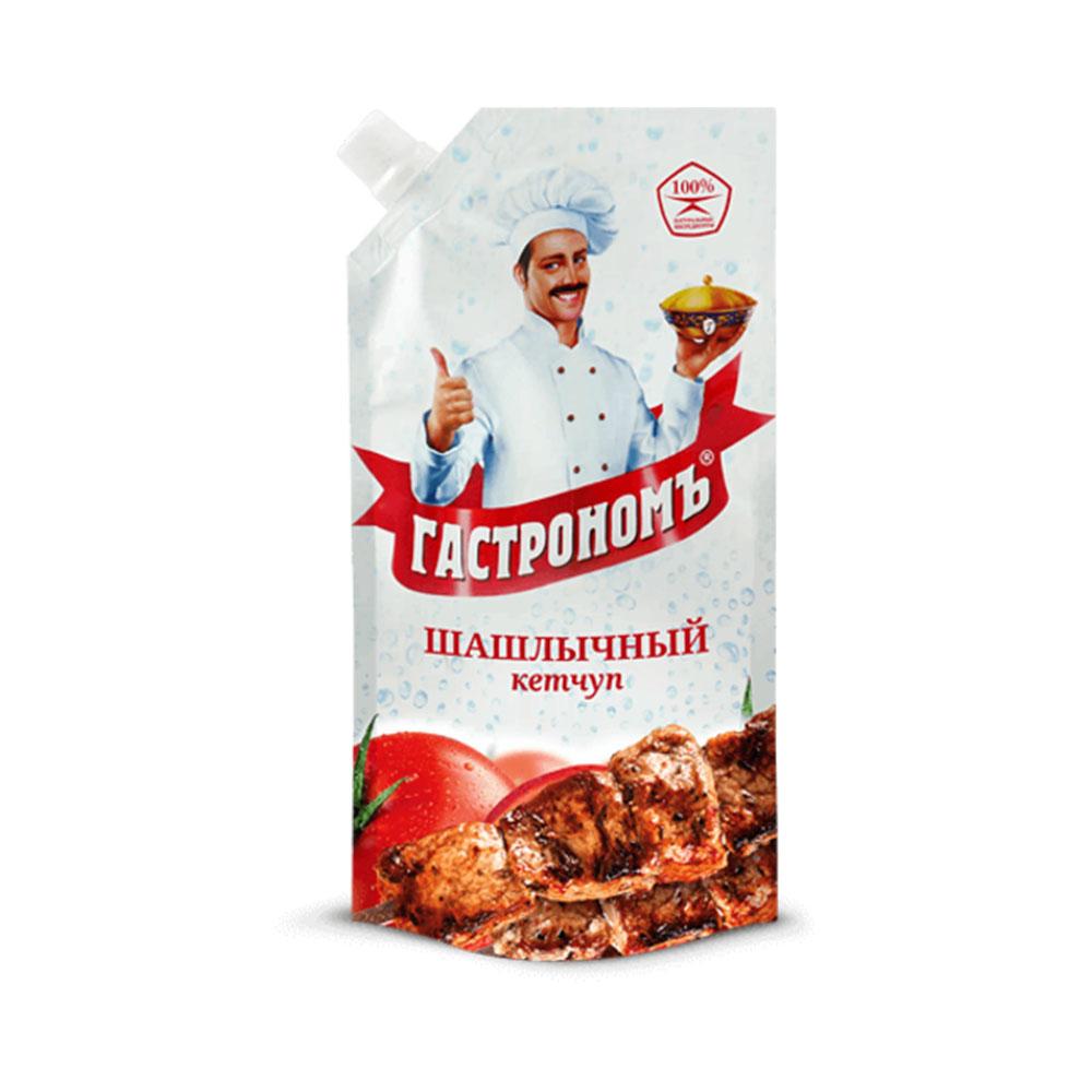 Кетчуп Гастрономъ Шашлычный 430 гр д/п
