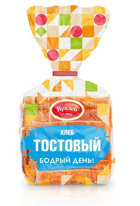 Хлеб Тостовый YARRY HURRY 450г нарезка Ярхлеб