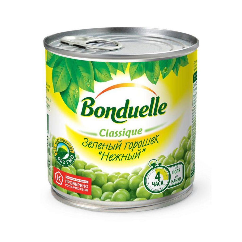 Горошек зеленый Бондюэль 425мл ж/б