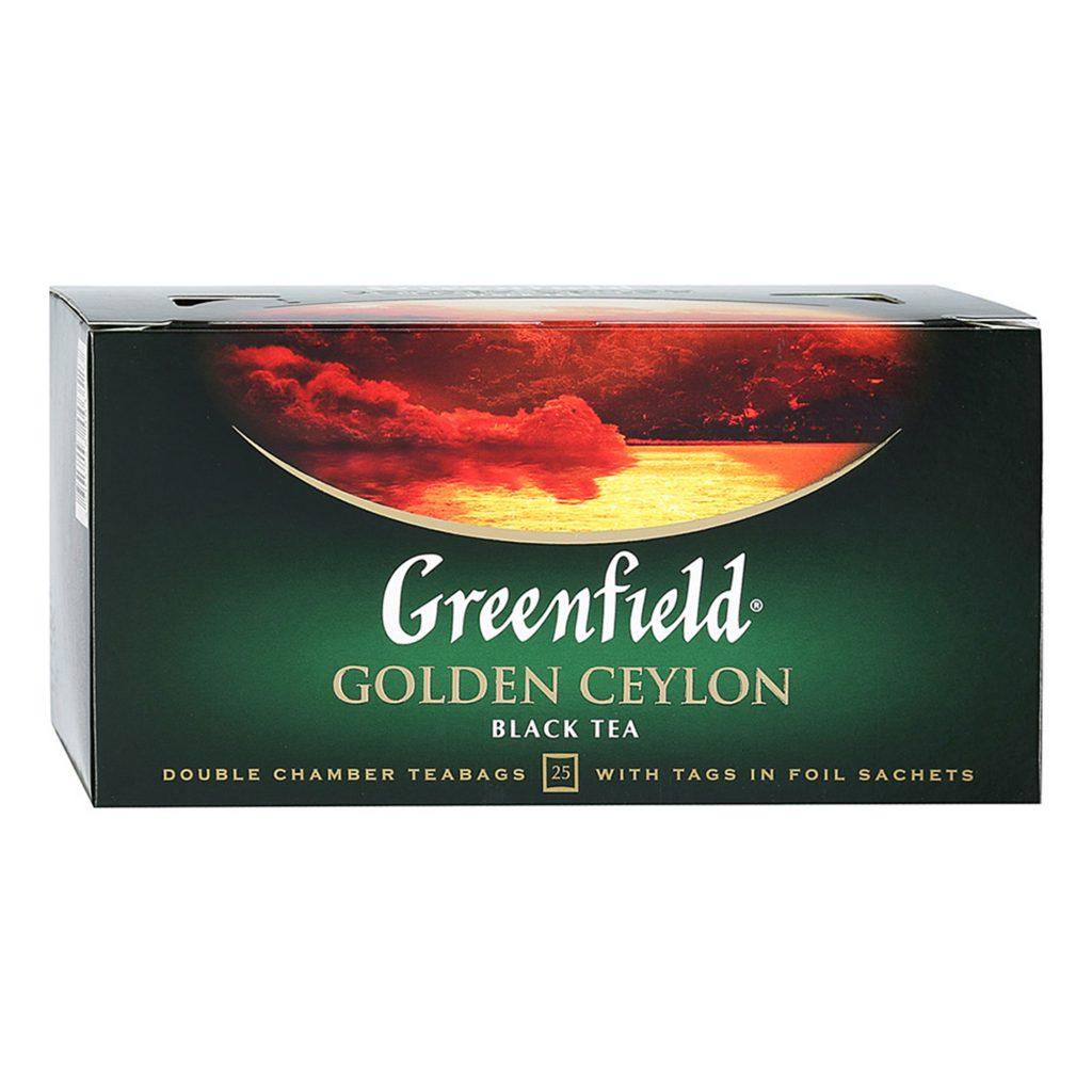 Чай Гринфилд Голден Цейлон 25*2г пак