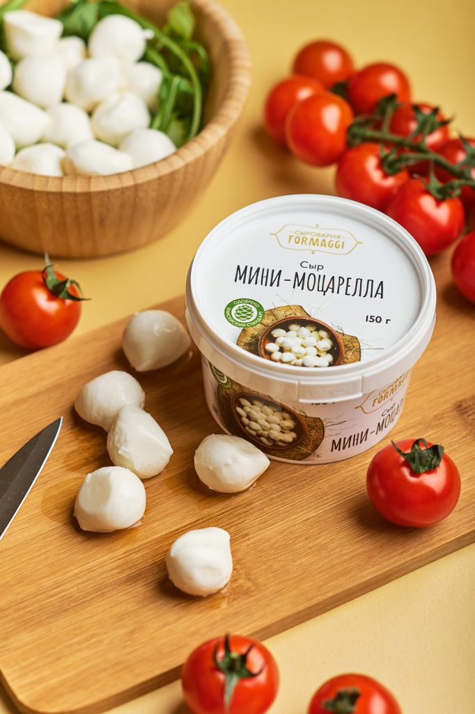 БЗМЖ Сыр Мини-Моцарелла 250гр Formaggi