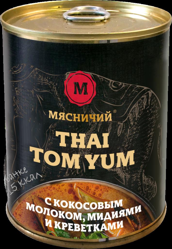 Суп Том Ям 330 ж/б Мясничий