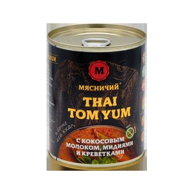 Суп Том Ям not spicy 330 ж/б Мясничий